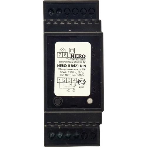 Диммер для ламп накаливания, галогенных ламп Nero II 8421 DIN